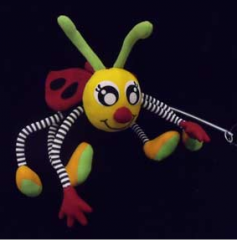 Plush beetle