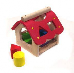 Shape-sorting toy
