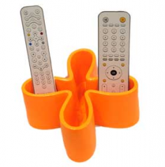 Polyresin remote control holder