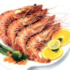 Frozen Cooked Black Tiger shrimp