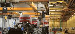 Steel Light Crane Systems