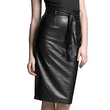 Leather Skirt woman
