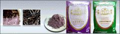 Black glutinous rice flour