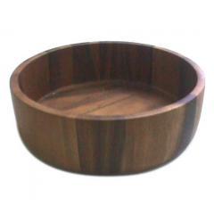 Acacia Straight Side Salad Bowl