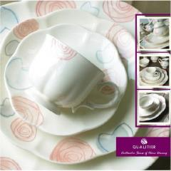Ceramic Tableware - 04:Sakura / Ruby Rose