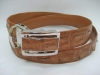 Crocodile / Alligator Skin Leather Belts, Snake Belt