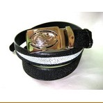 Genuine Diamond Stingray Leather Belt
