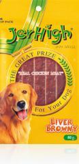 Liver Browny dog