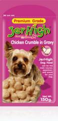 Dog pouch Chicken Crumble in Gravy