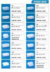 Polystyrene Foam Food Box