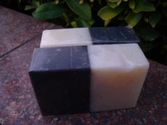 Carbon & Alovela Soap
