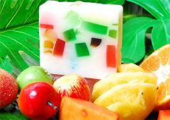 Fruity Milky Natural Handmade Soap