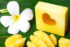 Pineapple Natural Handmade Soap