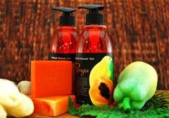 Papaya Natural Shower Gel