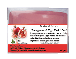 Natural Soap - Pomegranate & Tiger Herbal
