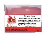 Natural Soap - Pomegranate & Tiger Herbal