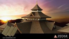 Ha Huang Zedar Shake Roof Tile