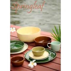 Spring Leaf Tea Cup Set
