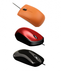 Basic Optical Wired Mouse