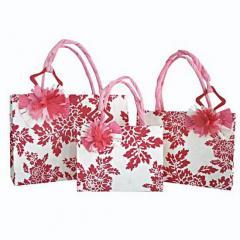 Floral Paper Bag