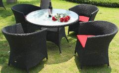 Outdoor Furniture 06-b Table With Chairs