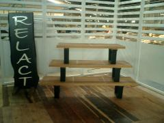 Wooden Nelson Bench