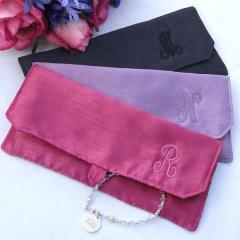 Thai silk cosmstic bags