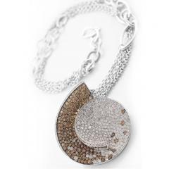 Large Diamond Pendant