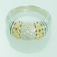 Luxury Ladies Silver Ring
