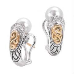 Ladies Pearl Earrings