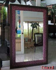 Rattan Mirror Ewan-M289