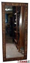 Wooden Mirror Teak