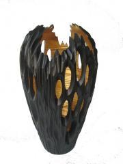 Orb Meteorite Vase