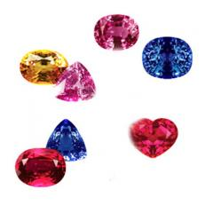 Luxury Sapphire And Ruby Gemstones