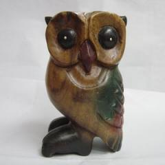Wooden Whistle Owls