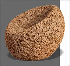 Chair Rattan Natural