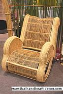 Rattan chair in no.8 figure