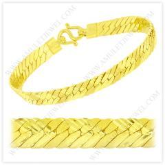 B-0002-1BAHT Real 23k Baht Gold Matte Diamond Cut