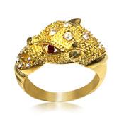 Brass Ring  RGT-0056 Tiger leopard