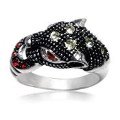 Brass Ring RGT-0054 Tiger leopard