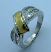 Ladies 925 Sterling Silver Ring RGFU-0031-6