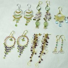 Gemstone Earrings Collection