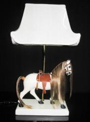 Horse style lamp