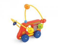 Fire engine roller