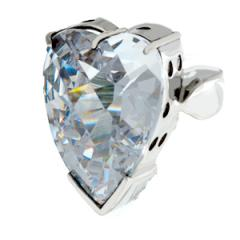 Ring Sterling Silver with Cubic Zirconia H15R.01
