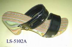 Wooden  Clogs LS-5102A