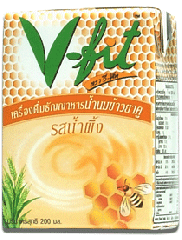 Rice milk drink, honey lavored