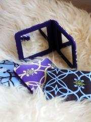 Silk Square Compact Mirrors