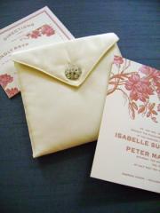 Silk Invitation Envelopes