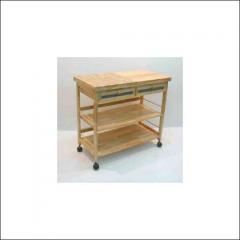 Moveable Wooden Workbench
